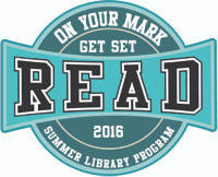 On Your Mark Get Set Read Summer Reading