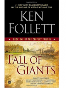 Chat discussion is on Fall of Giants Ken Follett. Click for a review.