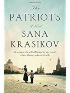 """Chapter Chap book for May is """"The Patriots"""" by Sana Kraskov"""