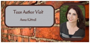 Anna Kittrell will be visiting the library on March 16th.