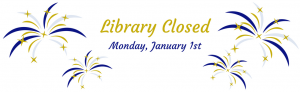 The library will be closed