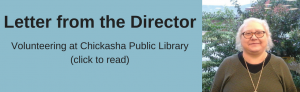 Volunteering at Chickasha Public Library