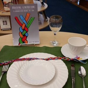 June Friends Summer Luncheon Display at the Library.