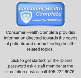 Consumer Health Complete is an online resource on health related topics.
