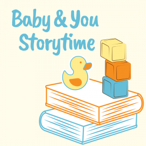 Join us for our Baby and You Storytime on Thursday Mornings