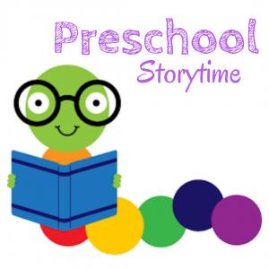 Preschool Storytime every Wednesday Morning.