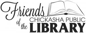 Friends of the Chickasha Public Library logo.