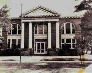 Chickasha Public Library in 1905