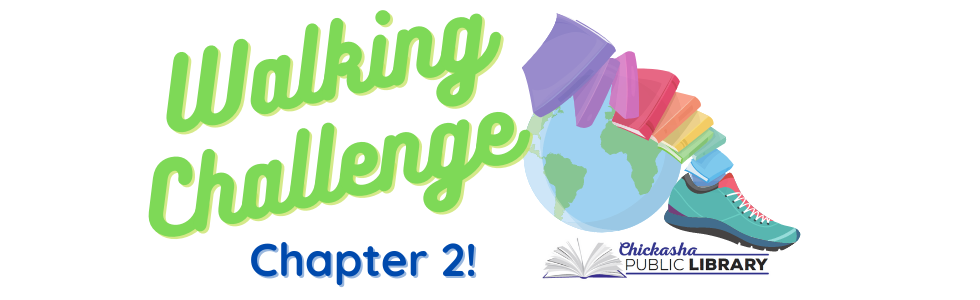 Chickasha Public Library Kicks off their second walking challenge