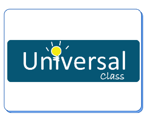 Universal Class is a database with self placed learning classes on a variety of topics.