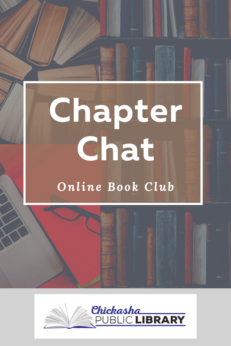 Chapter Chat is an online book club.