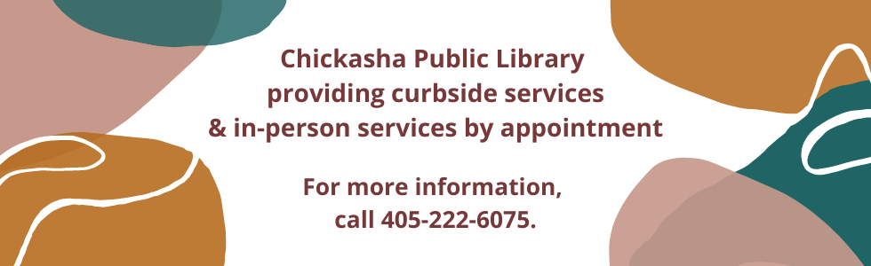 Chickasha Public library is running a curbside model