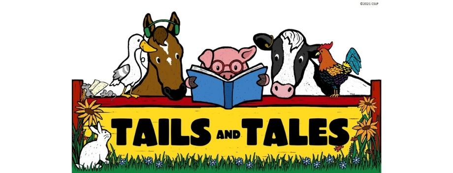 All the farm animals join the reading fun!