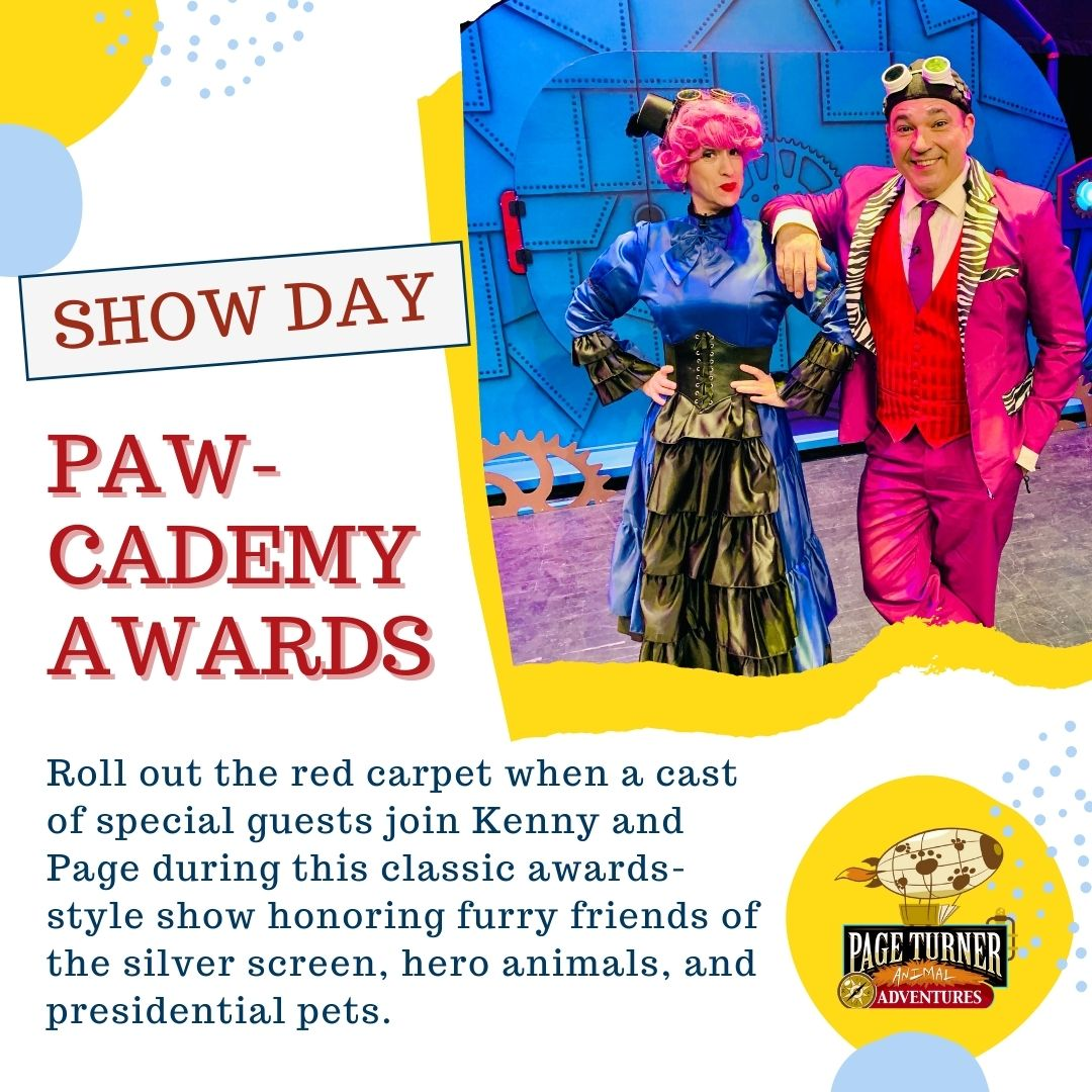 CELEBRITY CRITTERS Show Day