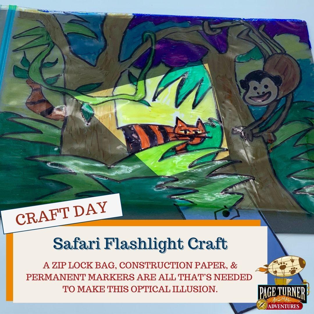 CRAFT DAY: Flashlight Safari