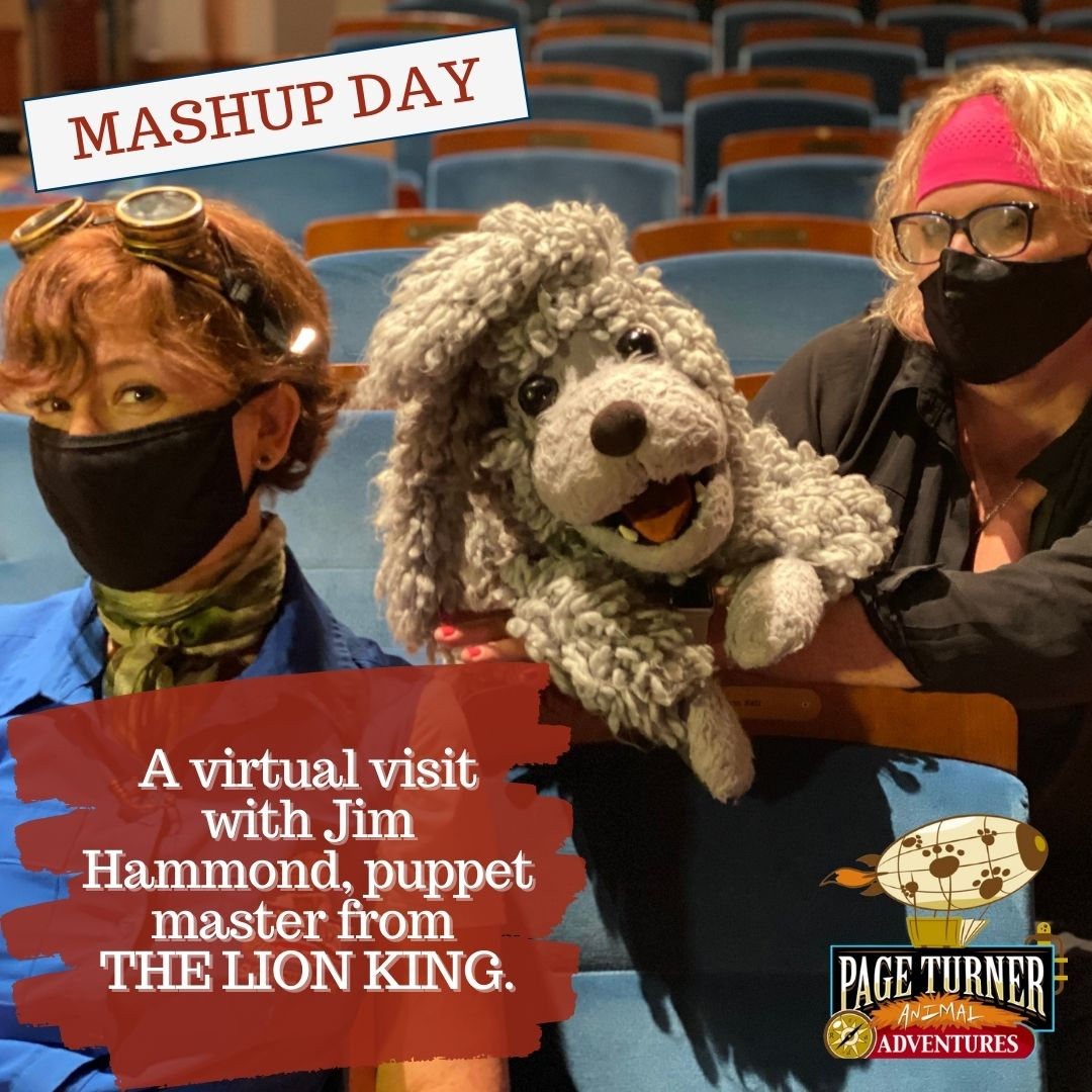 MASHUP DAY: A virtual visit with Jim Hammond, puppet master from THE LION KING.